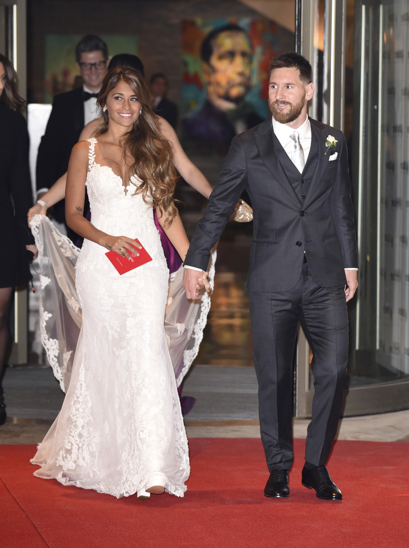 Messi e Antonella